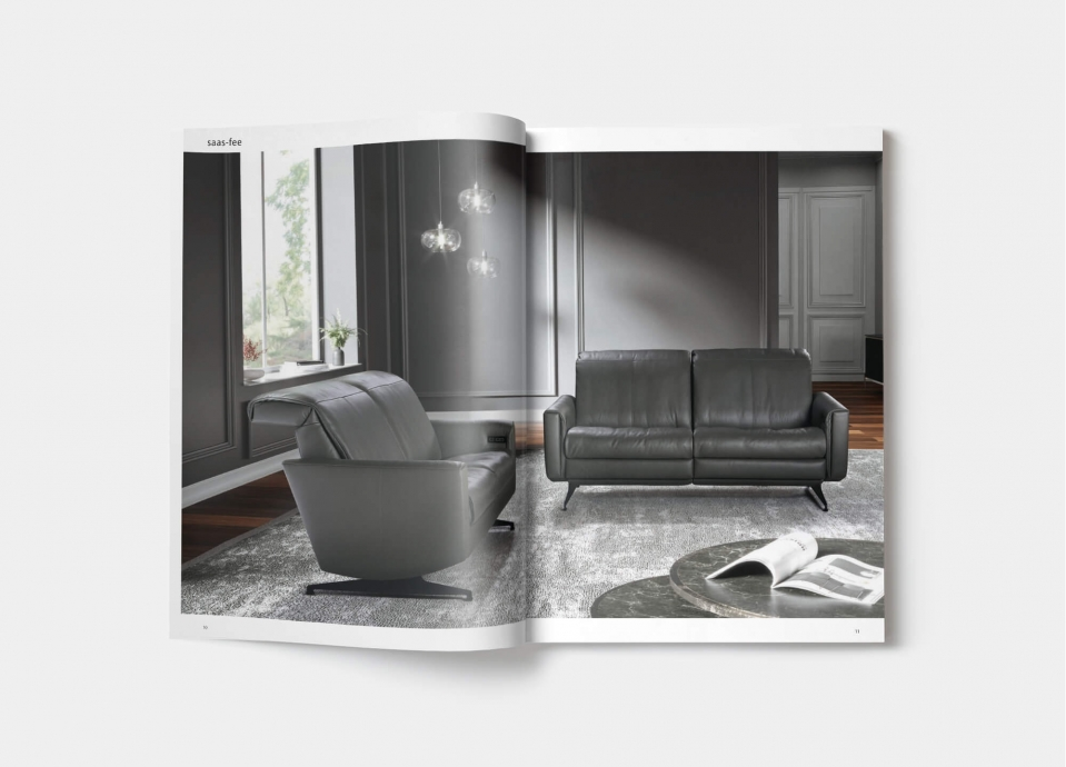 horst collection katalog sofa canape design moebel saas fee