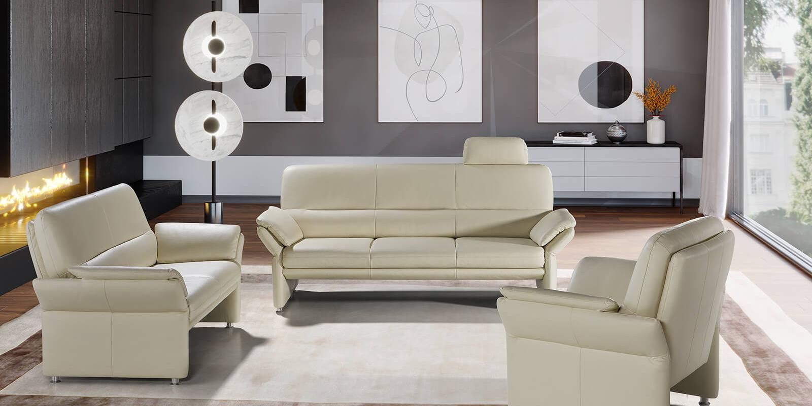 horst collection grimsel sofa design moebel beige leder
